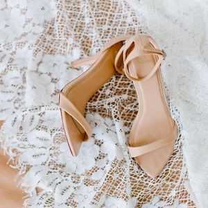 Grace Loves Lace Dosa Heels Nude Size 41 Wedding